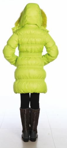 11.1 Пальто пуховое для девочки  (на лебяжьем пуху), Floral Print 1Atlantic.PNG